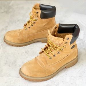 LUGZ Convoy Work Boots Lace Up Golden Wheat 8